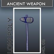 Arme ancienne_03 3d model