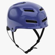 BMX Helmet 3d model
