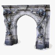 GateKeeper Knight Dresden Arch Doorway 3d model