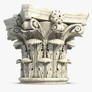Capital de Coluna 3d model
