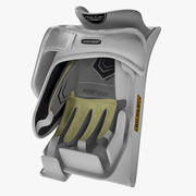Ice Hockey Blocker 3d model