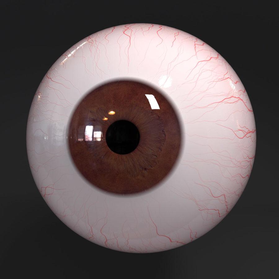 Realistic Human Eye royalty-free 3d model - Preview no. 7