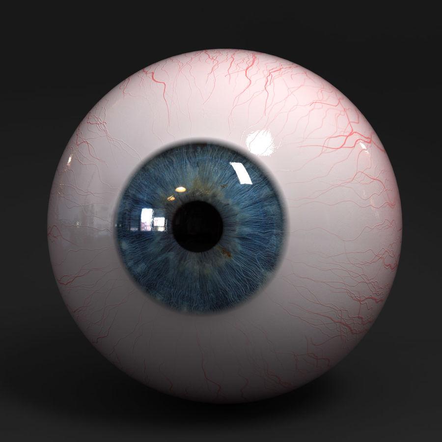 Realistic Human Eye royalty-free 3d model - Preview no. 2