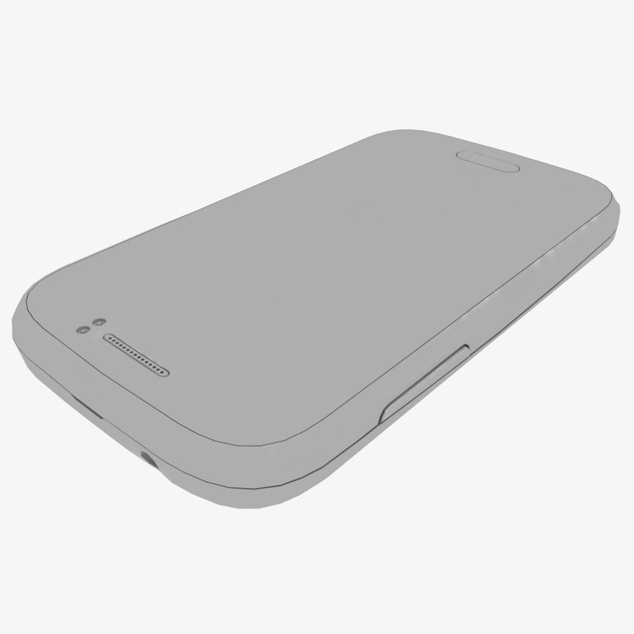 Samsung Galaxy Young S6310 Blue royalty-free 3d model - Preview no. 35
