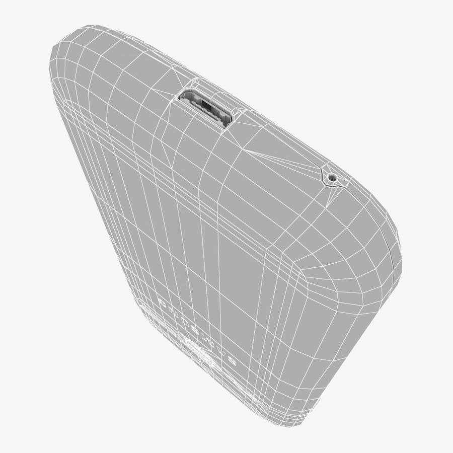 Samsung Galaxy Young S6310 Blue royalty-free 3d model - Preview no. 32