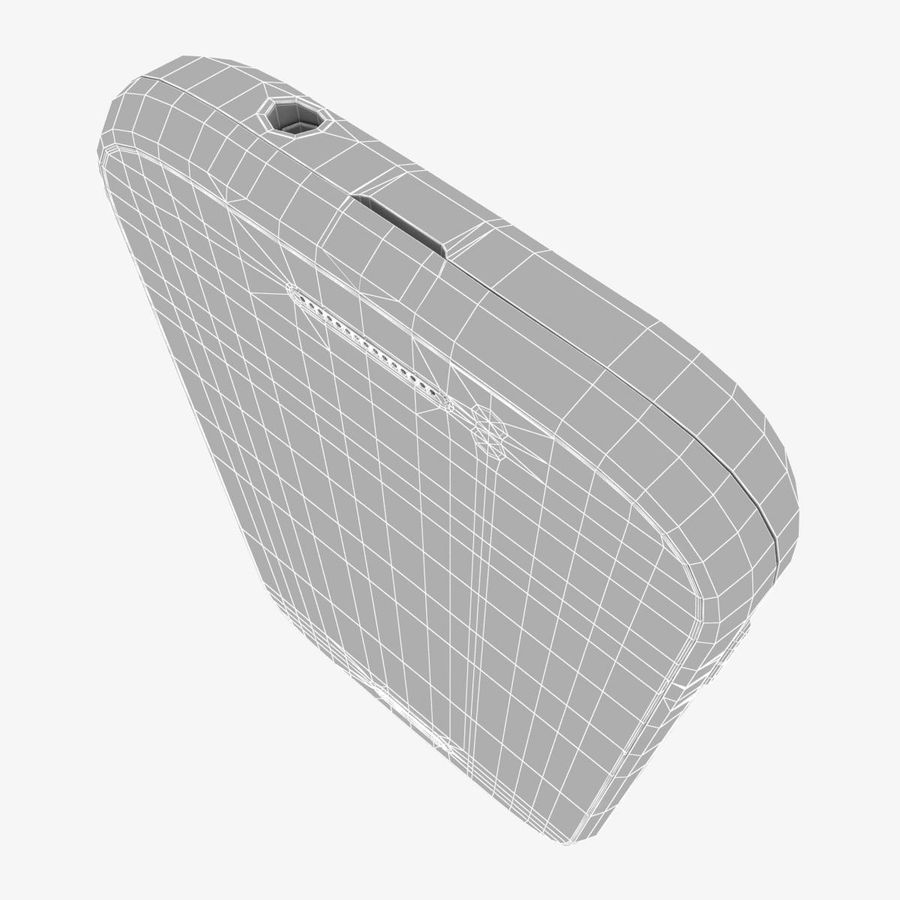 Samsung Galaxy Young S6310 Blue royalty-free 3d model - Preview no. 29