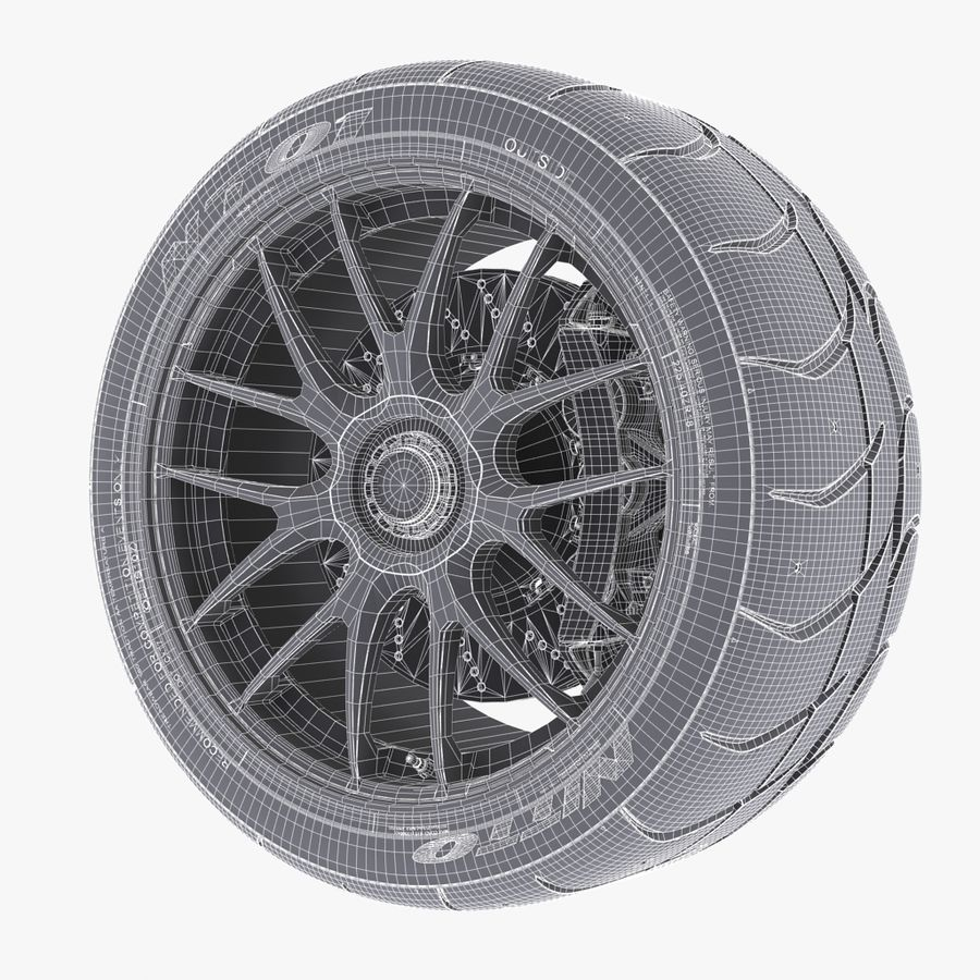 Volk Racing G27 royalty-free 3d model - Preview no. 8