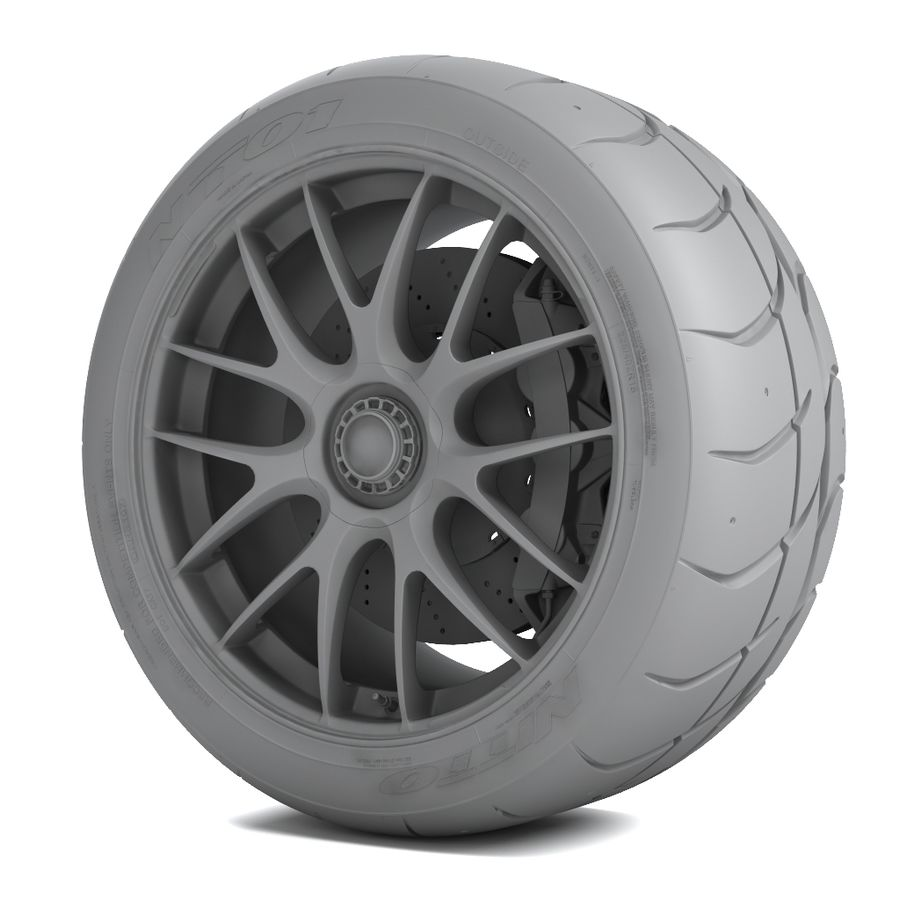 Volk Racing G27 royalty-free 3d model - Preview no. 7