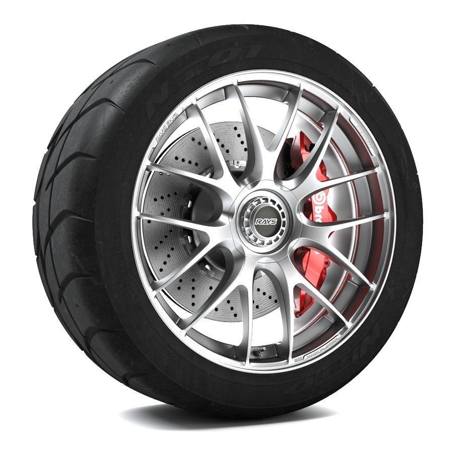Volk Racing G27 royalty-free 3d model - Preview no. 1