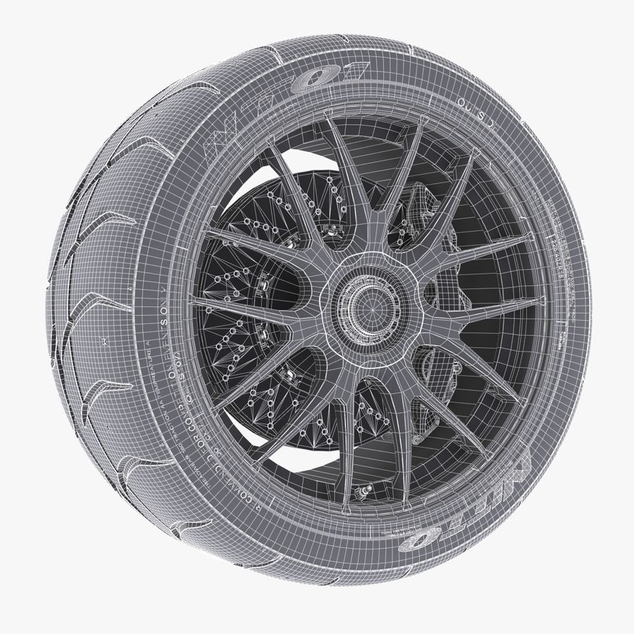 Volk Racing G27 royalty-free 3d model - Preview no. 6