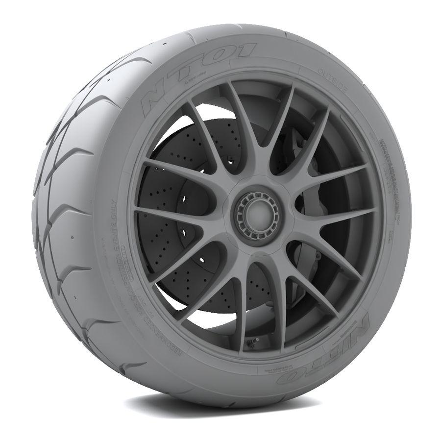 Volk Racing G27 royalty-free 3d model - Preview no. 5