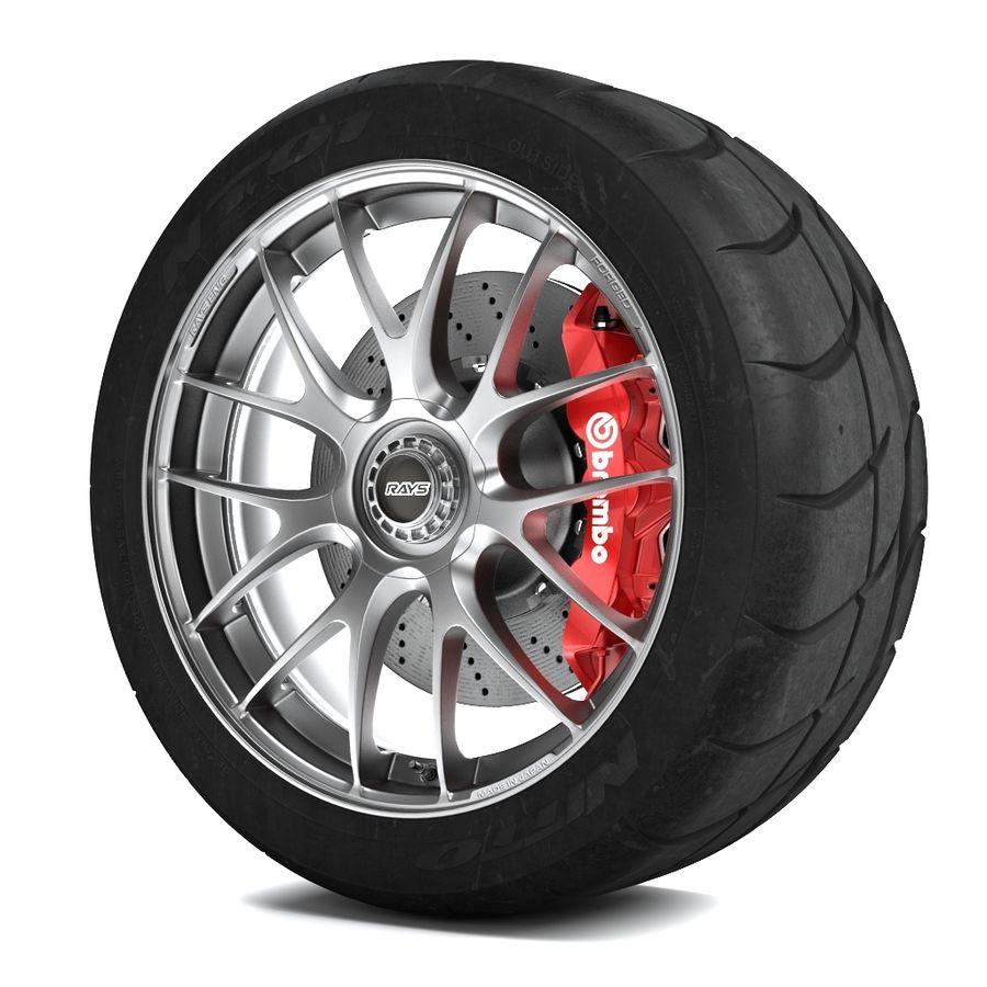 Volk Racing G27 royalty-free 3d model - Preview no. 2