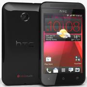 HTC Desire 200 Schwarz 3d model