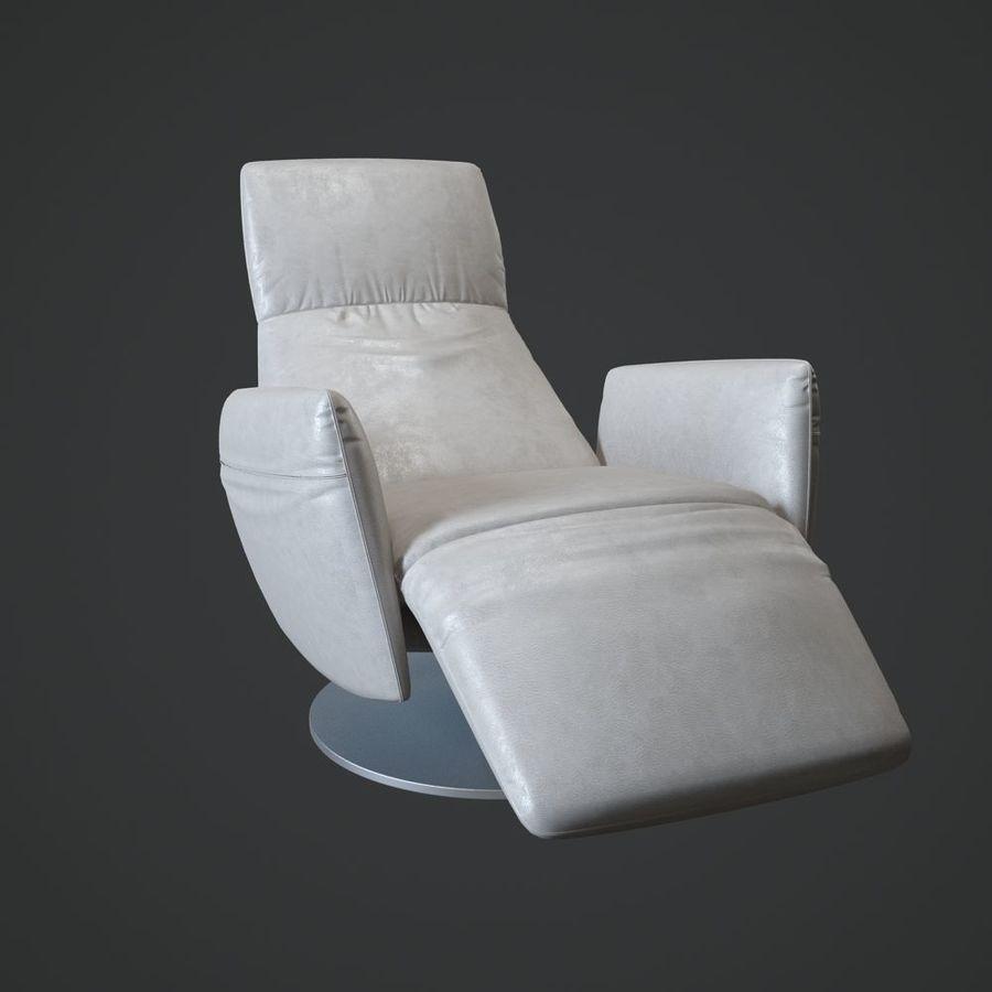 Poltrona Frau Pillow.Poltrona Frau Pillow Reclining Chair 3d 3d Model 35 Max
