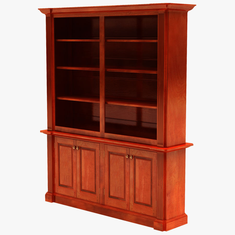 Architectural Bookcase royalty-free 3d model - Preview no. 1