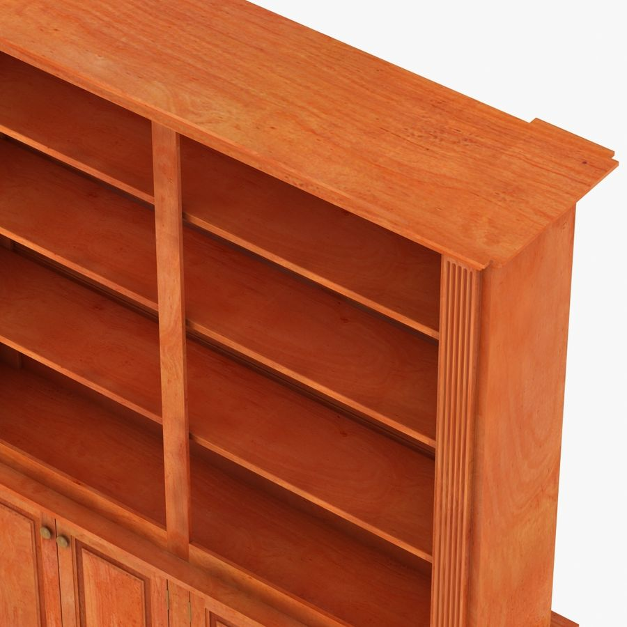 Architectural Bookcase royalty-free 3d model - Preview no. 5