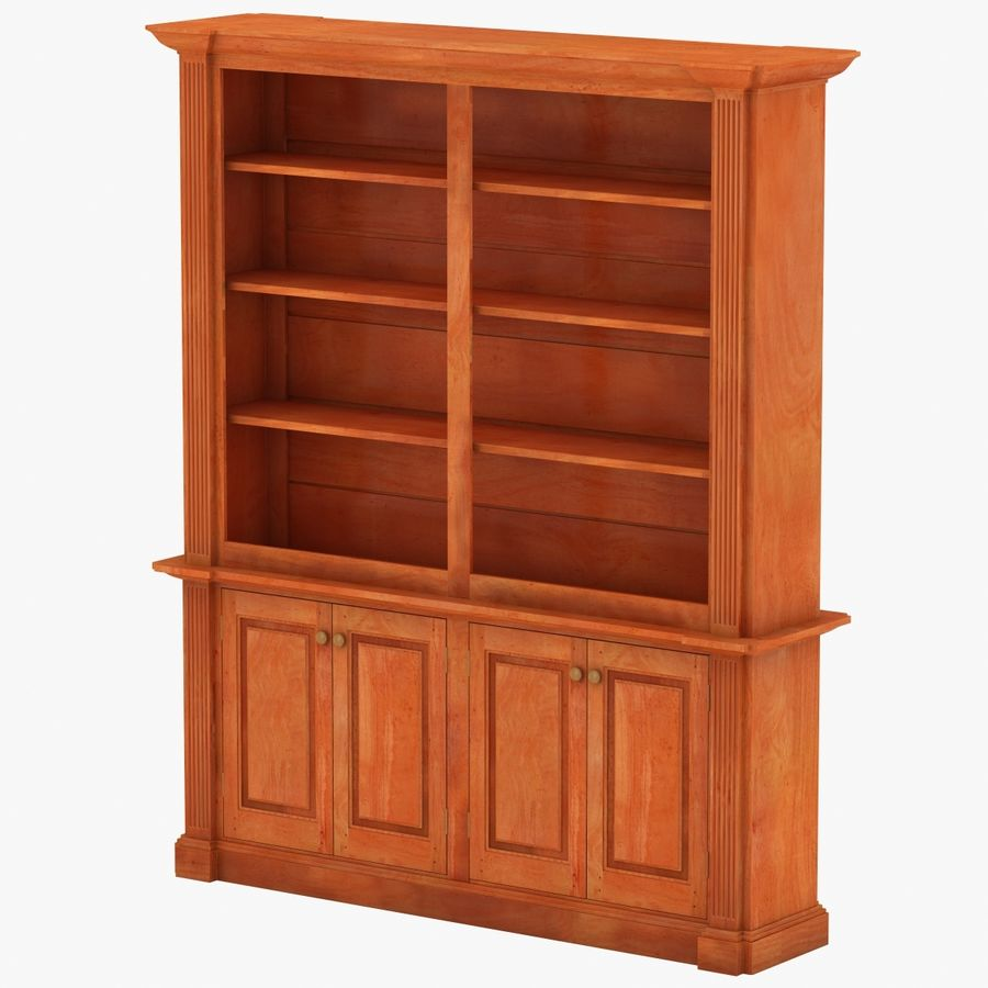 Architectural Bookcase royalty-free 3d model - Preview no. 3
