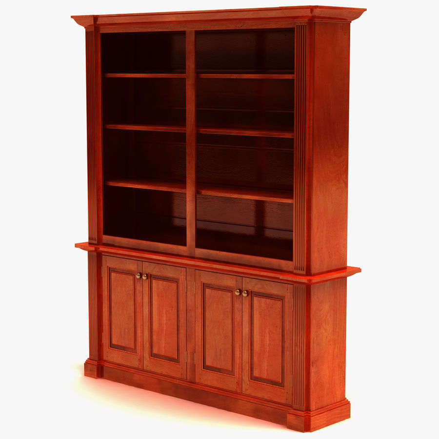 Architectural Bookcase royalty-free 3d model - Preview no. 2
