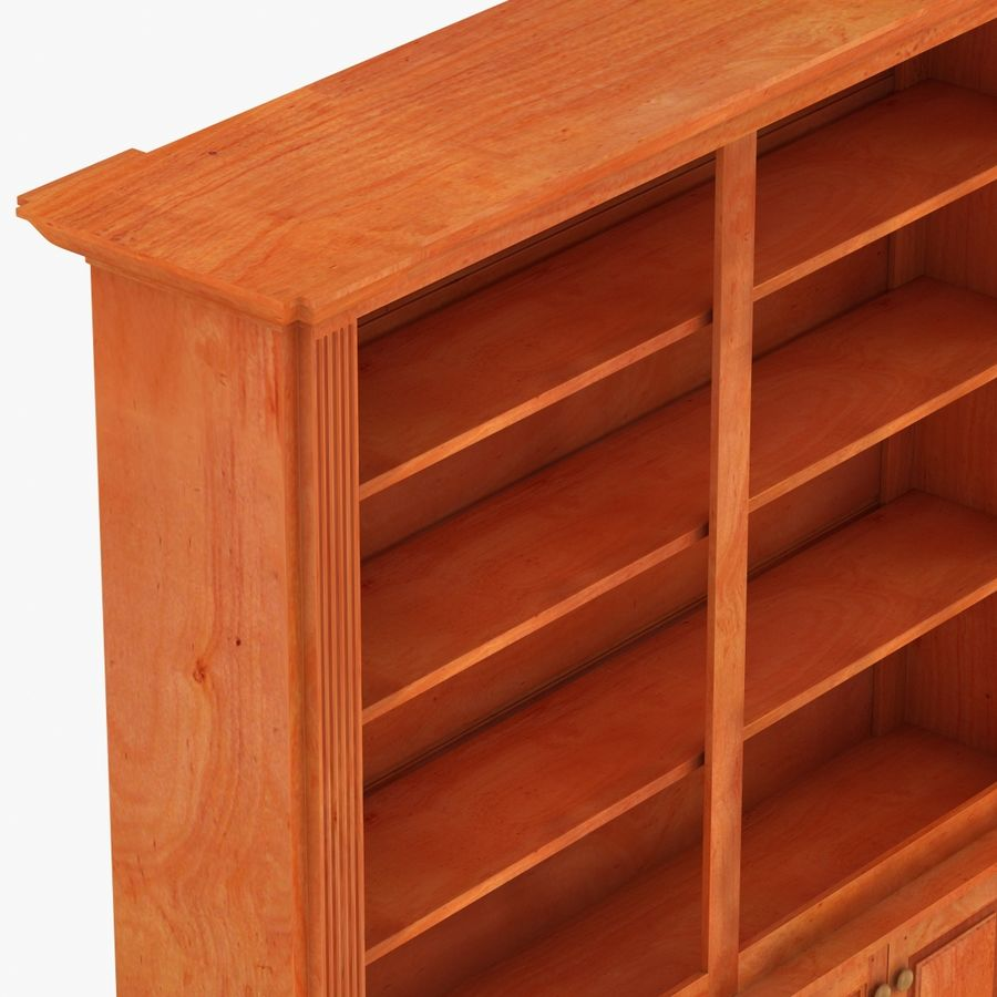 Architectural Bookcase royalty-free 3d model - Preview no. 6