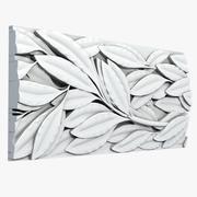 Leafs Molding Tile 3d model