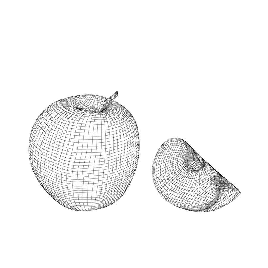 Apples royalty-free 3d model - Preview no. 10