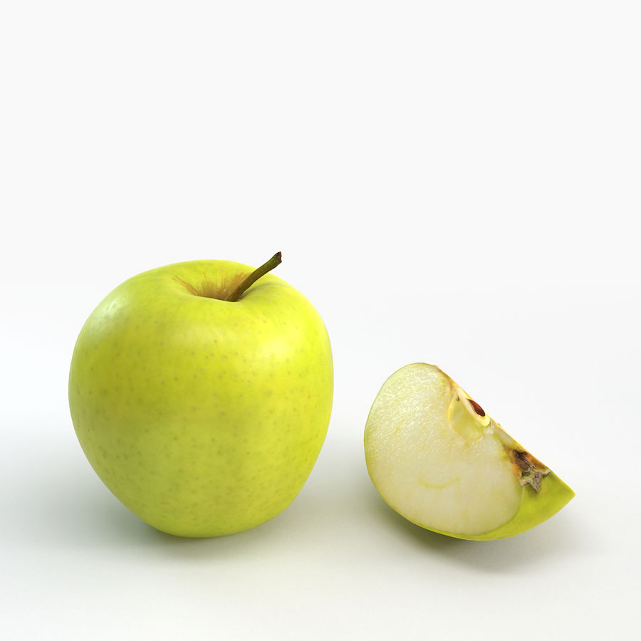 Apples royalty-free 3d model - Preview no. 5