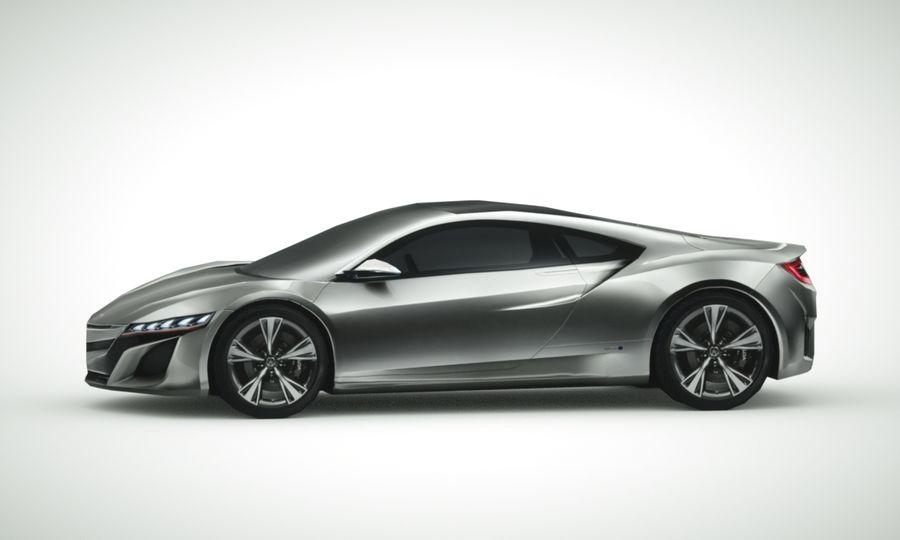 Acura NSX concept 2015 royalty-free modelo 3d - Preview no. 2