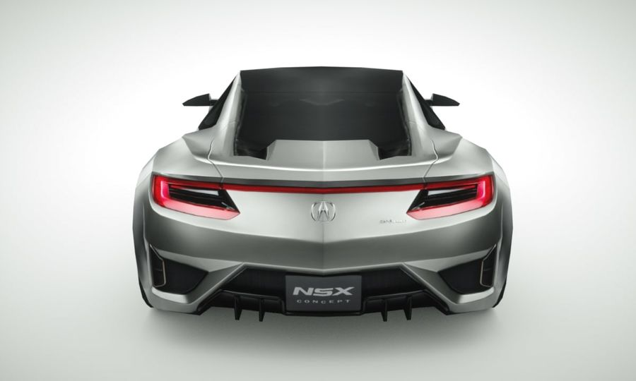 Acura NSX概念2015年 royalty-free 3d model - Preview no. 5