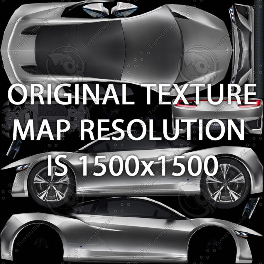 Acura NSX concept 2015 royalty-free modelo 3d - Preview no. 9