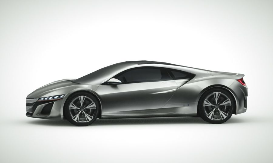 Acura NSX概念2015年 royalty-free 3d model - Preview no. 3