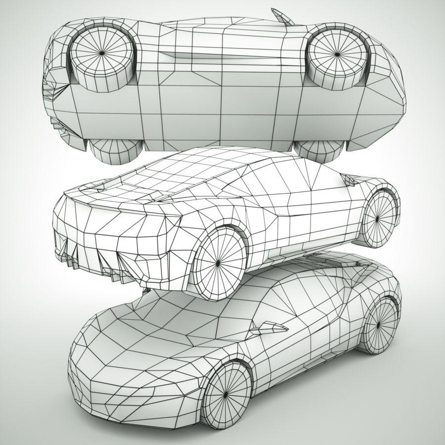 Acura NSX concept 2015 royalty-free modelo 3d - Preview no. 7