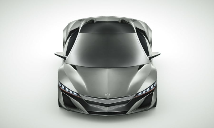 Acura NSX概念2015年 royalty-free 3d model - Preview no. 6