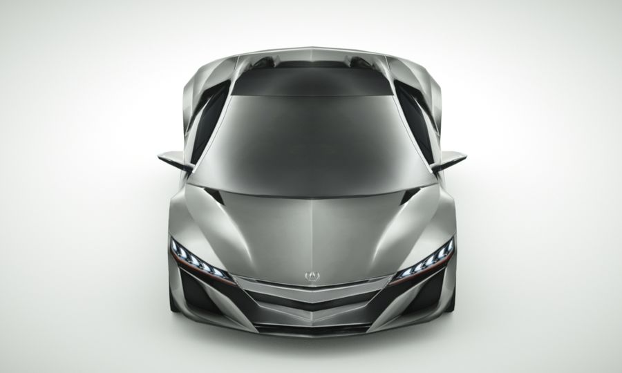 Acura NSX concept 2015 royalty-free modelo 3d - Preview no. 5