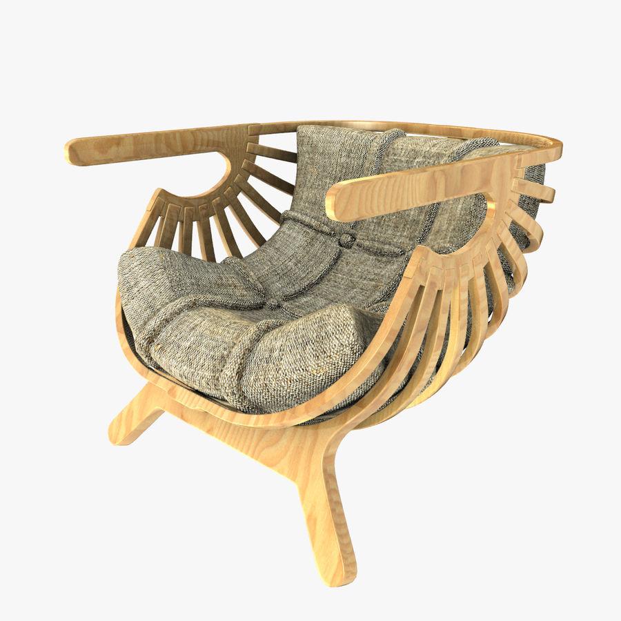 Shell Chair Marco Sousa Santos 3D Model $39 -  dwg  obj  fbx