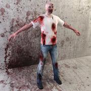 Модель зомби 3d model