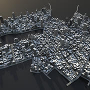 Big city 02 3d model