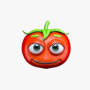 만화 토마토 3d model