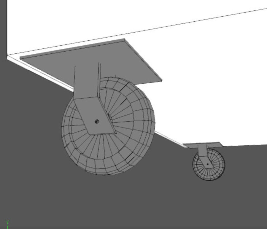 Контейнер для мусора (мусорный контейнер) royalty-free 3d model - Preview no. 7