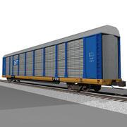 Eisenbahnwagen: GT Autorack / Autotransporter 3d model