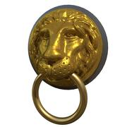 Lion Head Knocker 3d model