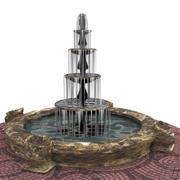 Trädgård fontän 3d model