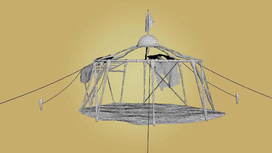 Tente royalty-free 3d model - Preview no. 8