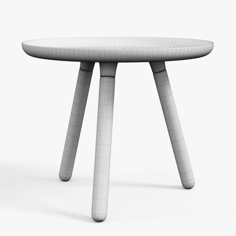 Tablo Table royalty-free 3d model - Preview no. 5