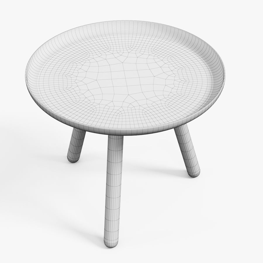 Tablo Table royalty-free 3d model - Preview no. 4