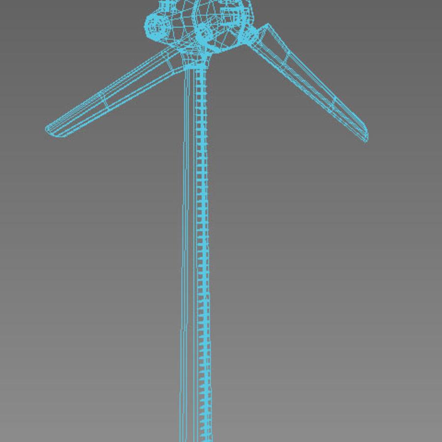 Generador de viento royalty-free modelo 3d - Preview no. 4