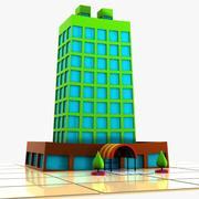 Cartoon Apartment 1 3d model
