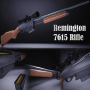 雷明顿7615 3d model