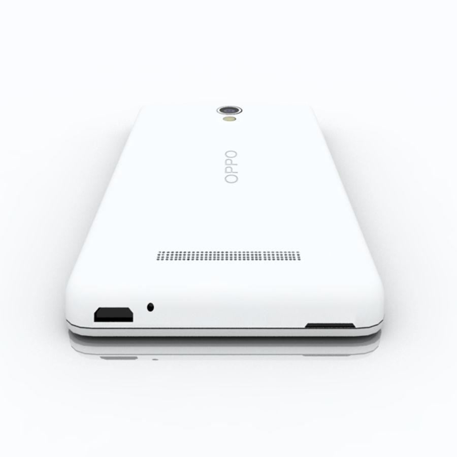 Koniczynka OPPO (R815) royalty-free 3d model - Preview no. 3
