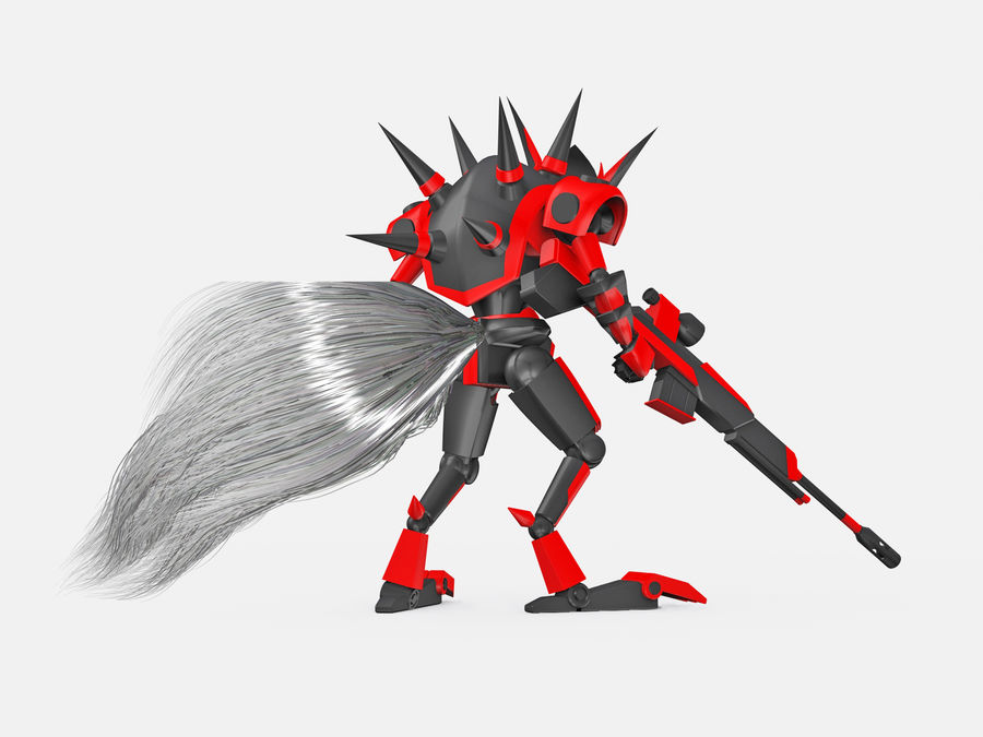 LBX Hunter royalty-free 3d model - Preview no. 3