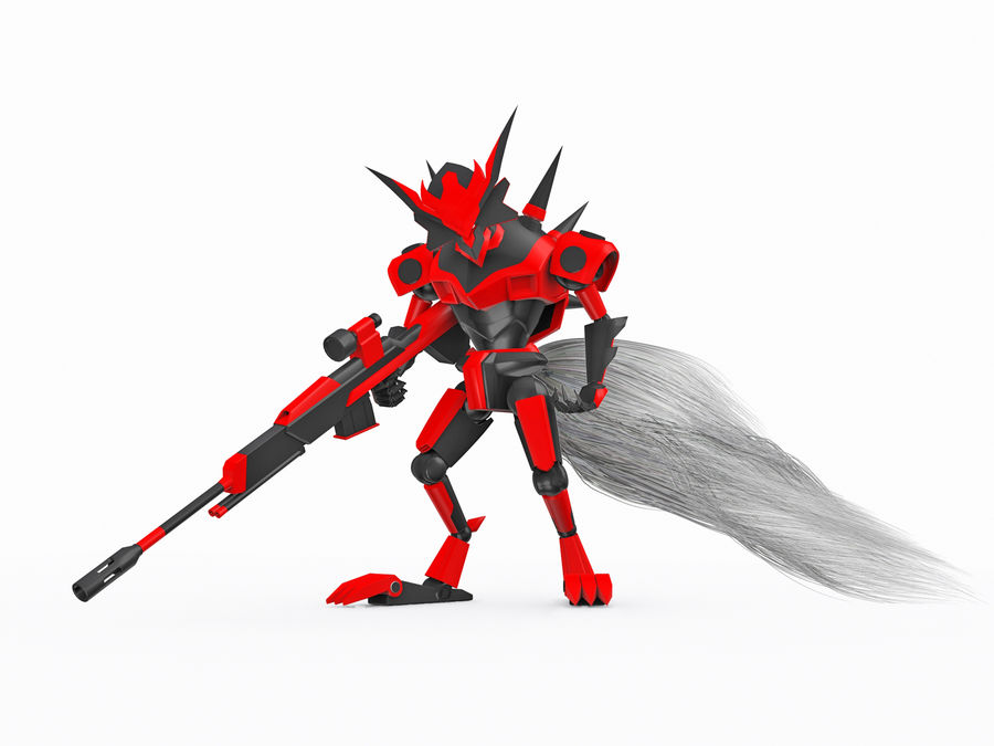 LBX Hunter royalty-free 3d model - Preview no. 1